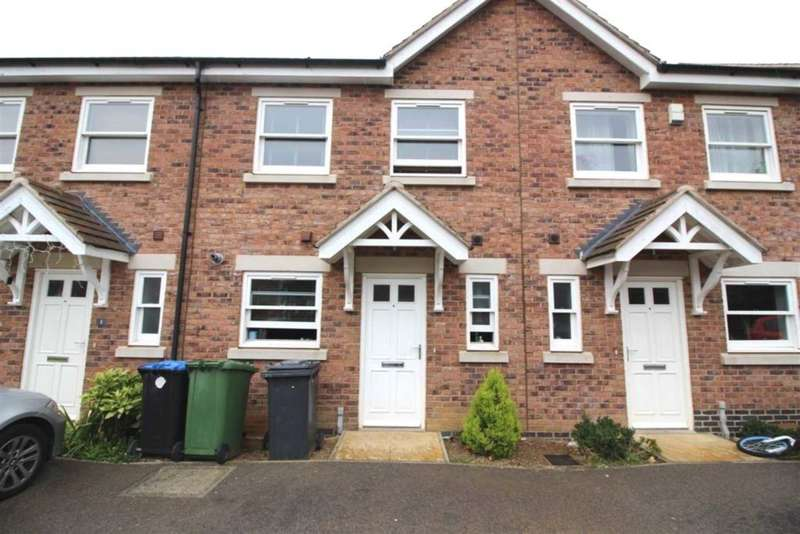 3 Bedrooms Town House for sale in Orchard Close, Leicester, Scraptoft