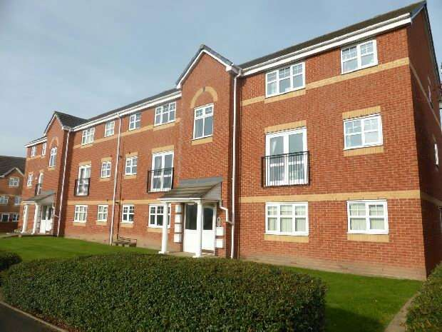 2 Bedrooms Apartment Flat for sale in Marigold Walk, Bermuda Park, Nuneaton
