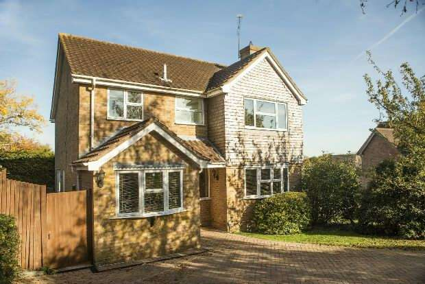 4 Bedrooms Detached House for sale in Bradmore Way, Lower Earley, Reading,
