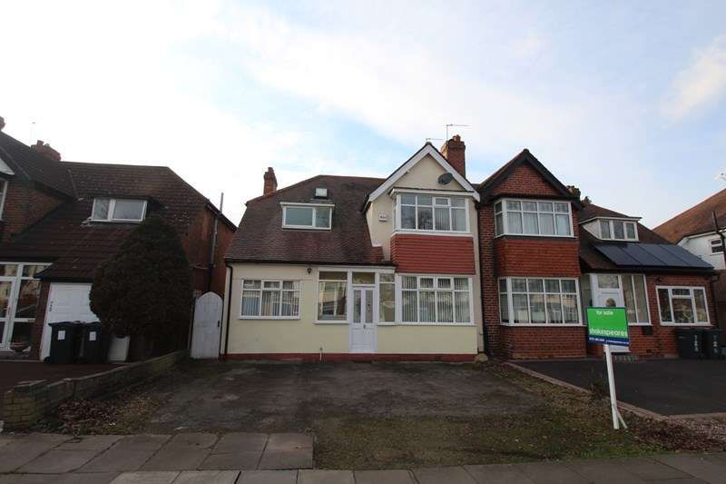4 Bedrooms Semi Detached House for sale in Shirley Road, Hall Green, Birmingham