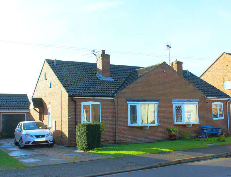 2 Bedrooms Semi Detached Bungalow for sale in Oxen Lane, Cliffe, Selby