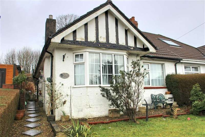 2 Bedrooms Semi Detached Bungalow for sale in Lon Mefus, Sketty