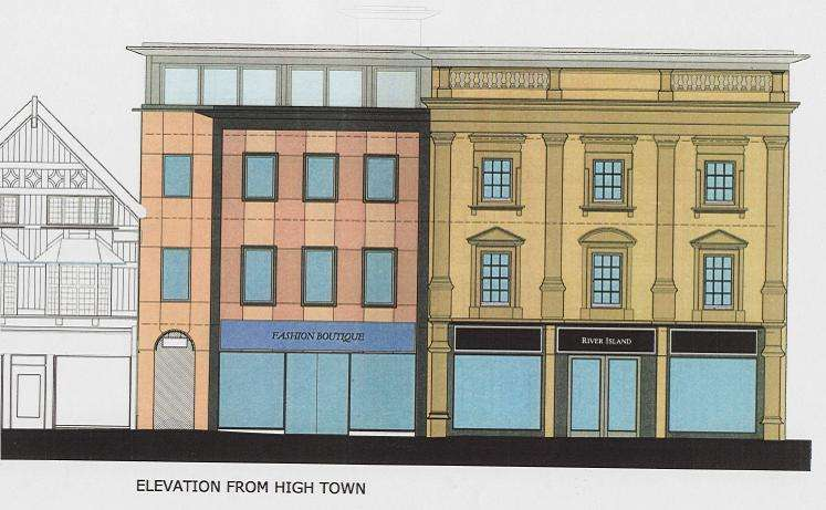 Property for rent in High Town, Hereford, Herefordshire, HR1 2AB