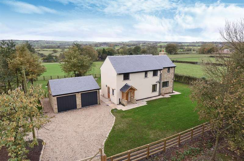 4 Bedrooms Detached House for sale in Howhill Road, Beckwithshaw, Harrogate, HG3 1QJ