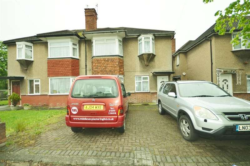 2 Bedrooms Maisonette Flat for sale in Woodgrange Avenue, Kenton, Harrow, Middlesex, HA3 0XG