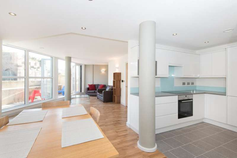 3 Bedrooms Duplex Flat for sale in London Road, Brentford TW8