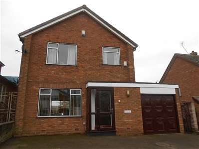 3 Bedrooms Detached House for sale in Ambergate Close, Bloxwich