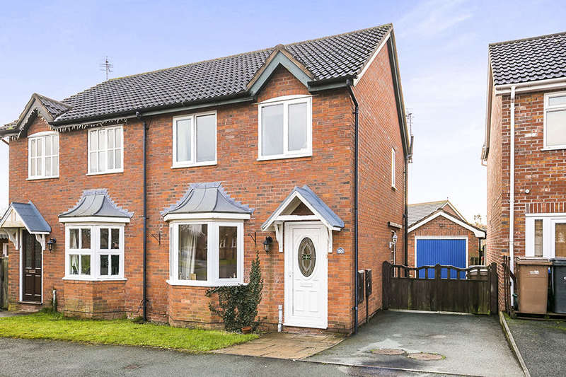 3 Bedrooms Semi Detached House for sale in Cabin Lane, Oswestry, SY11