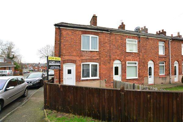 2 Bedrooms End Of Terrace House for sale in Latham Street, Winsford