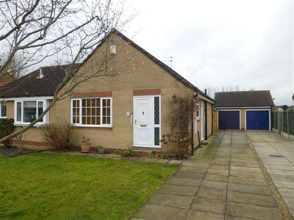 2 Bedrooms Semi Detached Bungalow for sale in Rishworth Grove, Clifton Moor, York