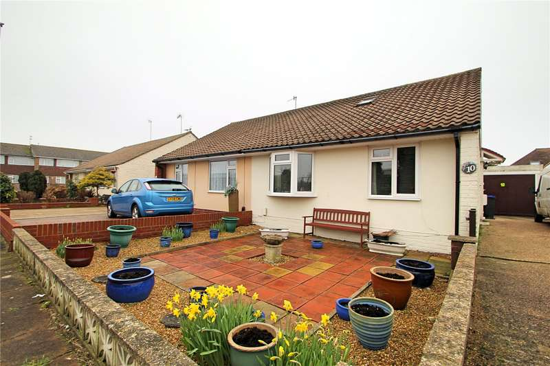 2 Bedrooms Semi Detached Bungalow for sale in Ham Close, Worthing, West Sussex, BN11