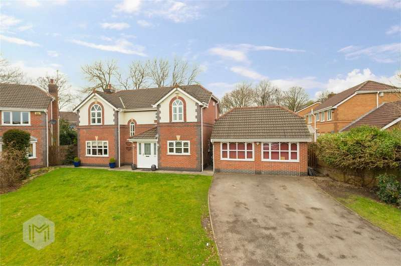 4 Bedrooms Detached House for sale in Greenbank Road, Radcliffe, Manchester, Lancashire
