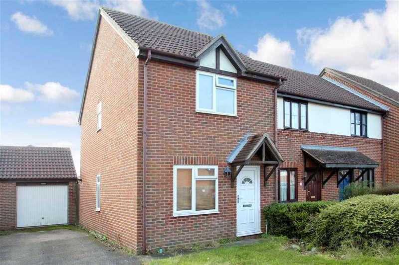 2 Bedrooms End Of Terrace House for sale in Sherwood Fields, Grange Farm, Kesgrave, Ipswich