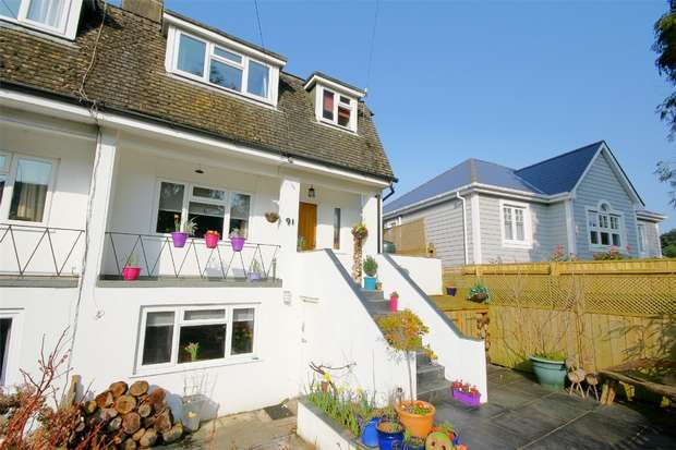 4 Bedrooms Semi Detached House for sale in Lilliput, POOLE, Dorset