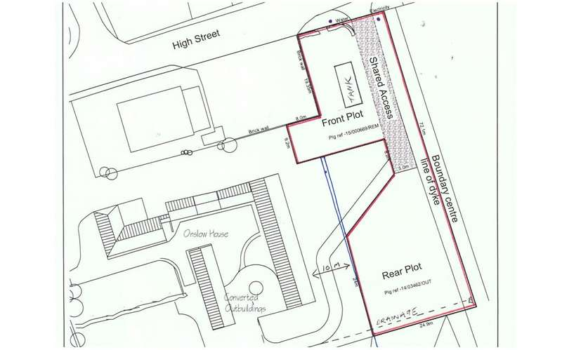 1 Bedroom Plot Commercial for sale in Building Plots x2, to the rear of Onslow House, Church Lane, Swinefleet, DN14 8DQ