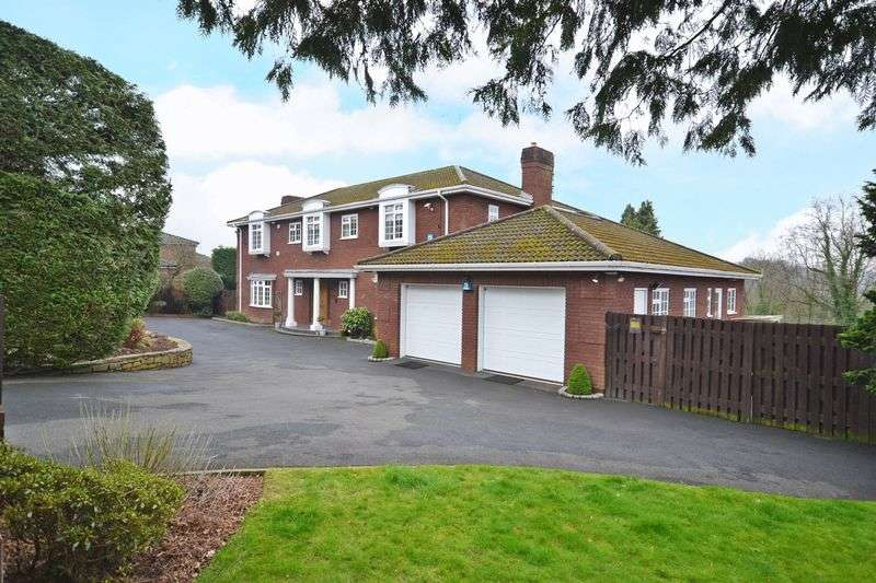 5 Bedrooms Detached House for sale in House and Building Plot - off Glasllwch Lane