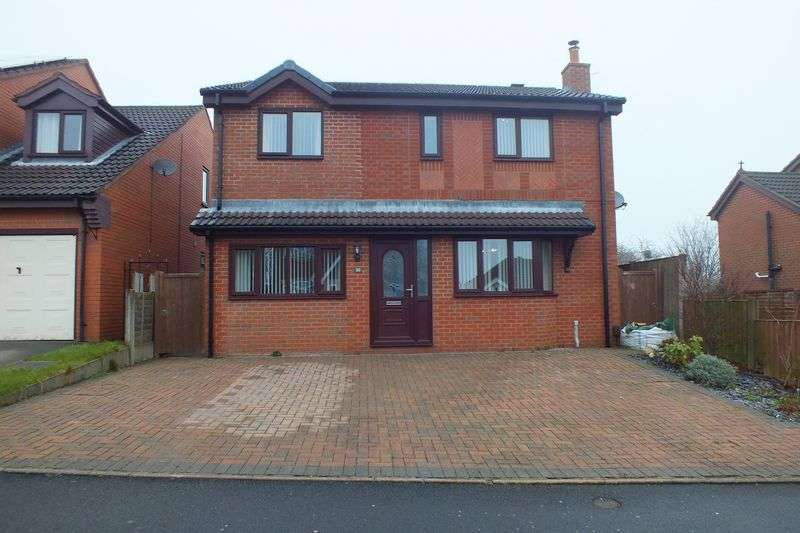4 Bedrooms Detached House for sale in Old Hall Drive, Bradwell, Newcastle