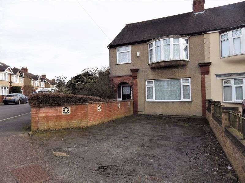 3 Bedrooms Semi Detached House for sale in Rutland Crescent, Luton