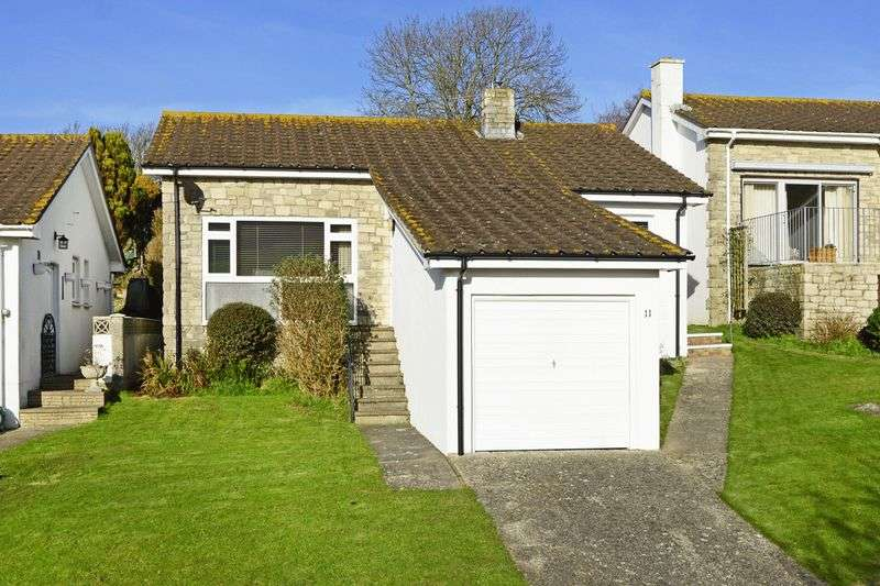 3 Bedrooms Detached Bungalow for sale in Shepherds Way, West Lulworth, BH20.