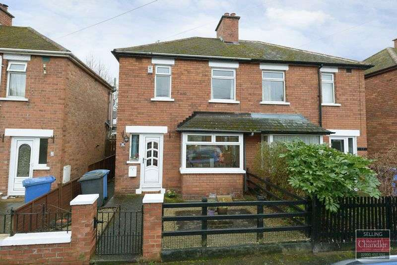2 Bedrooms Semi Detached House for sale in 59 Ravenhill Gardens, Belfast, BT6 8GQ