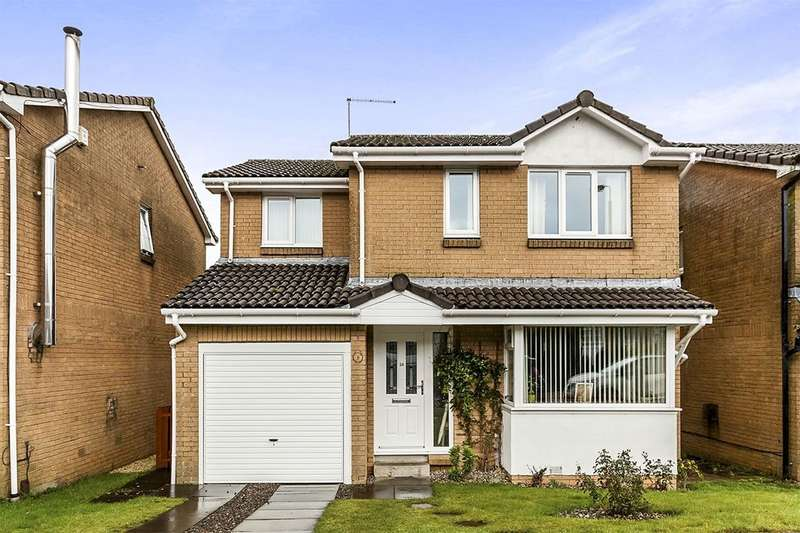 4 Bedrooms Detached House for sale in Gardrum Gardens, Shieldhill, Falkirk, FK1