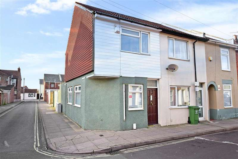 2 Bedrooms End Of Terrace House for sale in Byerley Road, Portsmouth, Hampshire