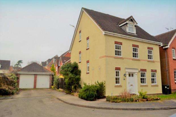5 Bedrooms Detached House for sale in Admington Drive, Hatton Park, Warwick, Warwickshire