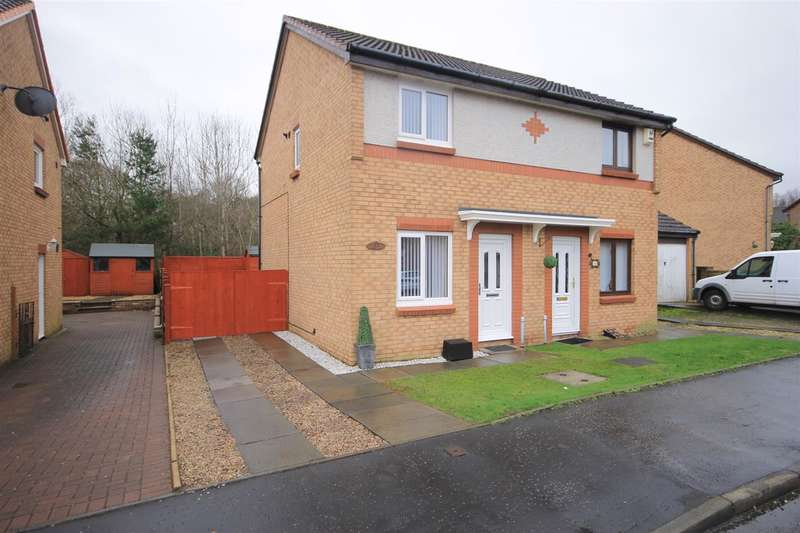 2 Bedrooms Semi Detached House for sale in Louiseville Avenue, Wishaw