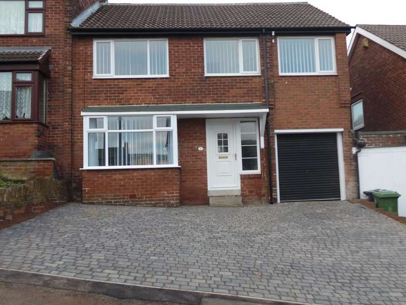 4 Bedrooms Semi Detached House for sale in Horncliffe Gardens, Swalwell, Newcastle Upon tyne NE16