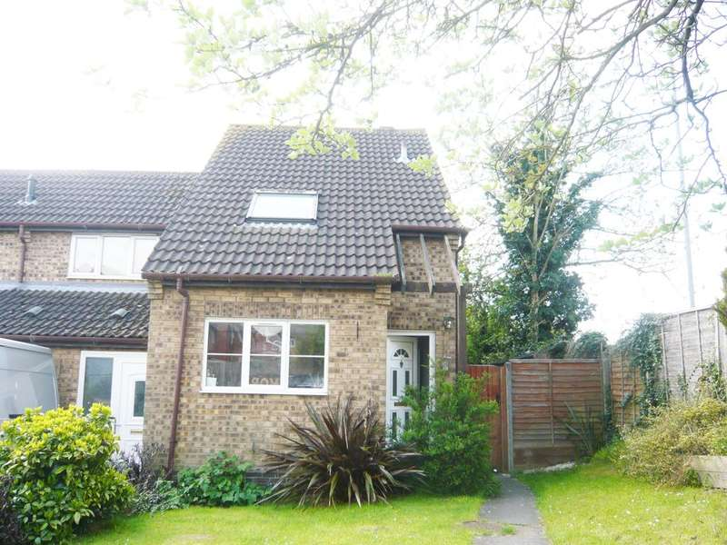2 Bedrooms End Of Terrace House for sale in Wigston Harcourt, Saxondale Road LE18