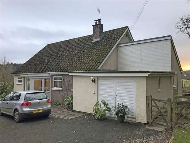 3 Bedrooms Detached Bungalow for sale in Llanfihangel Brynpabuan, Builth Wells, Powys