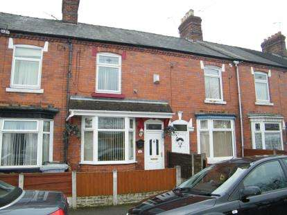 2 Bedrooms House for sale in Holland Street, Crewe, Cheshire