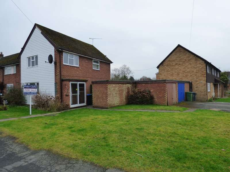 3 Bedrooms End Of Terrace House for sale in Frances Road, Harbury