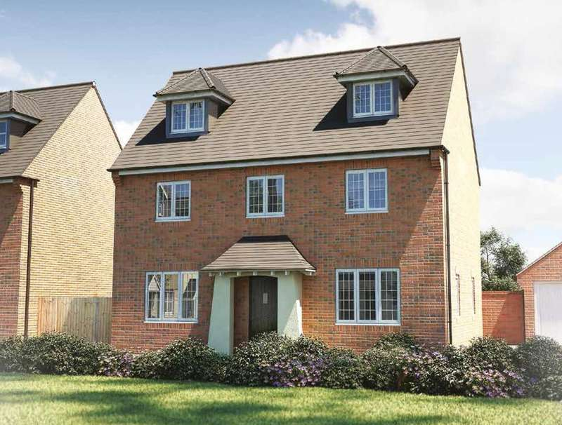 4 Bedrooms Detached House for sale in Crowdhill Green, Winchester Road, Fair Oak, Hampshire SO50