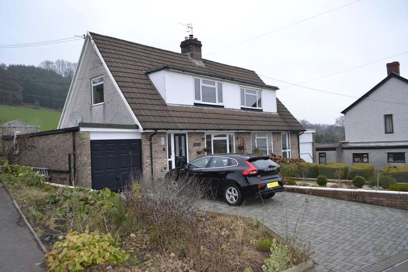 2 Bedrooms Semi Detached House for sale in Usk Road, Pontypool NP4