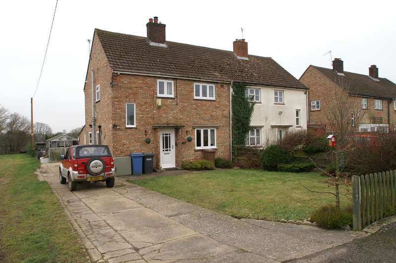 3 Bedrooms Semi Detached House for sale in Bury Road, Thorpe Moriuex, Bury St Edmunds IP30