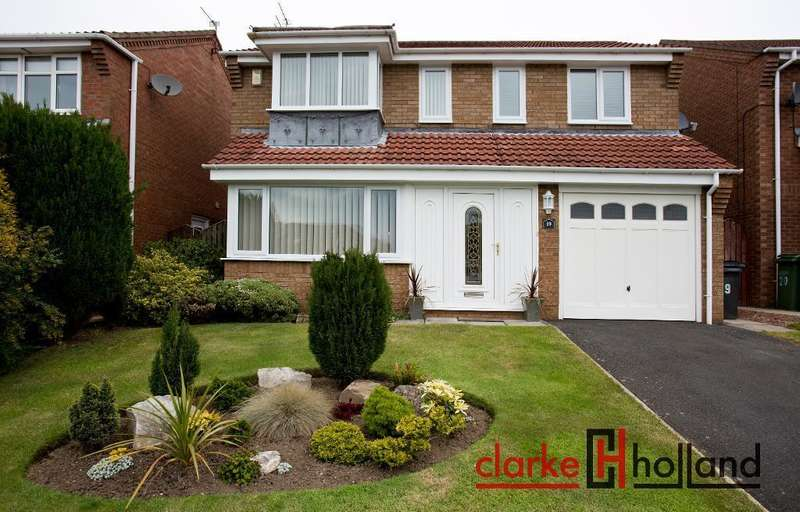 3 Bedrooms Detached House for sale in Whittingham Close, Ashington, NE63 8XX