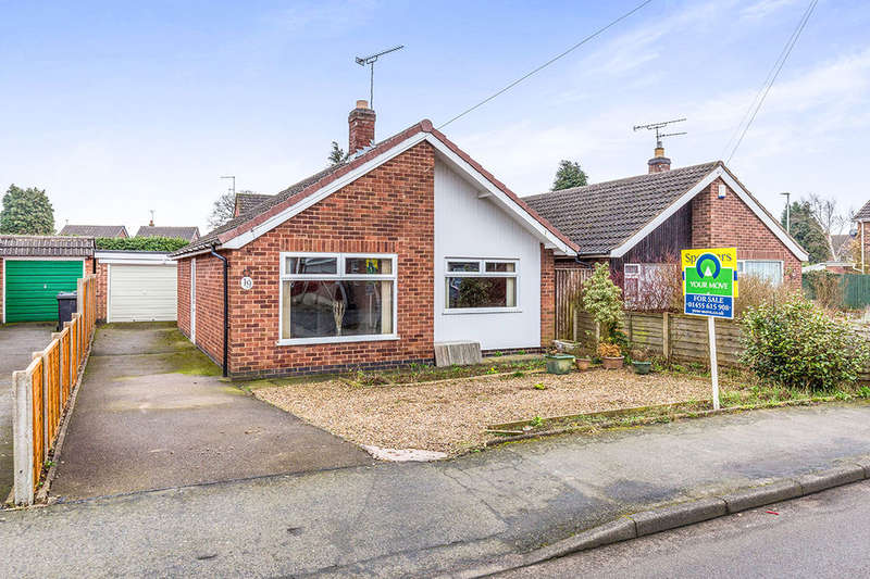 2 Bedrooms Detached Bungalow for sale in Arnolds Crescent, Newbold Verdon, Leicester, LE9