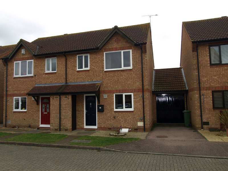 3 Bedrooms Semi Detached House for sale in St Bees, Monkston, Milton Keynes, Buckinghamshire