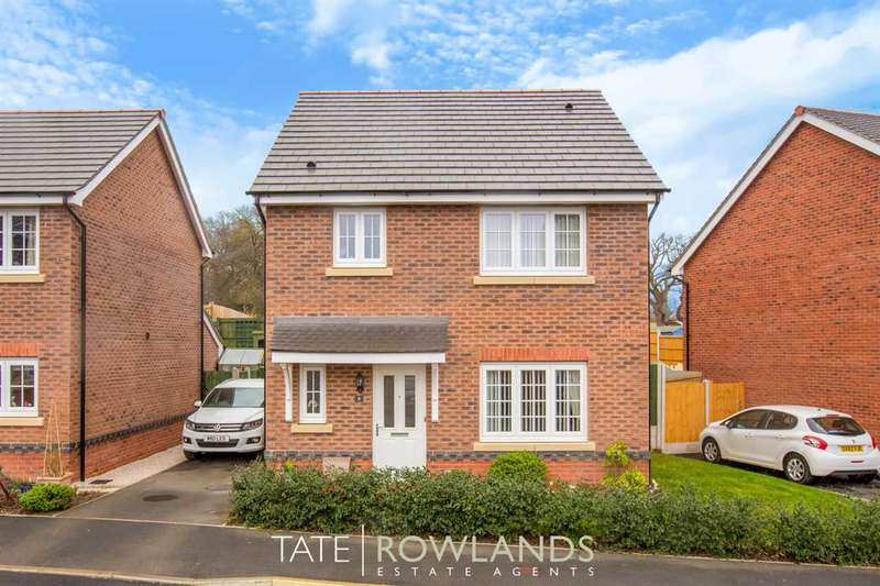 3 Bedrooms Detached House for sale in Ffordd Pedrog, Flint