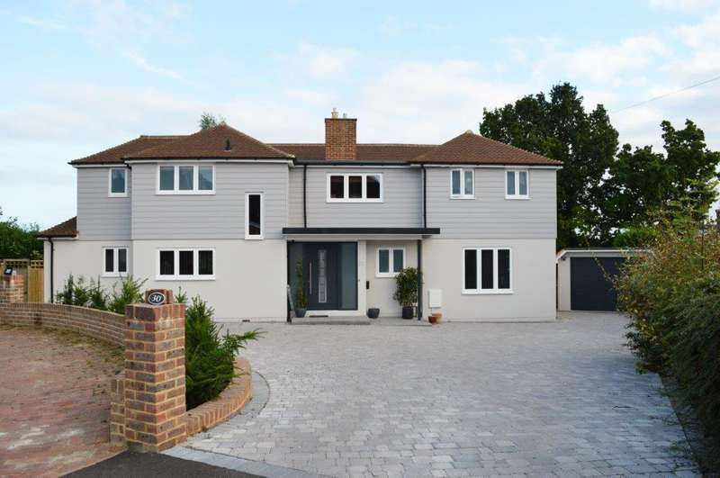 5 Bedrooms Detached House for sale in Whybourne Crest, Tunbridge Wells TN2
