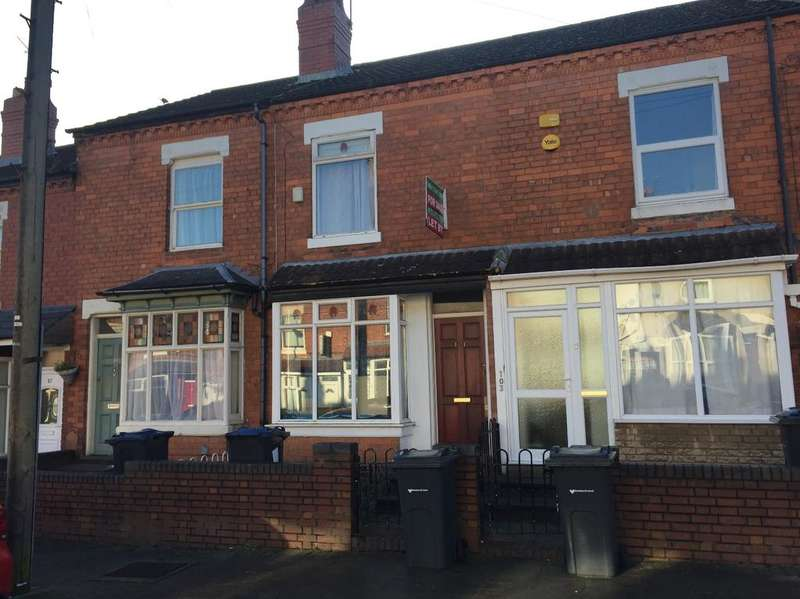 3 Bedrooms Terraced House for sale in Westminster Road, Selly Oak, Birmingham B29 7RN