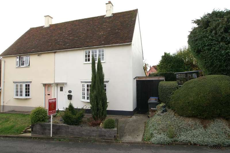 2 Bedrooms Semi Detached House for sale in Shilling Street, Lavenham CO10 9RH