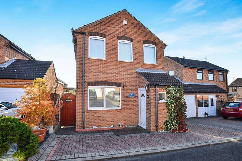 3 Bedrooms Detached House for sale in Juniper Court, Giltbrook, Nottingham, NG16