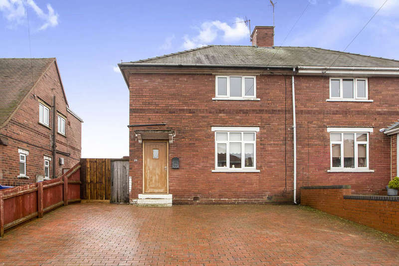 2 Bedrooms Semi Detached House for sale in St. James Avenue, Ilkeston, DE7