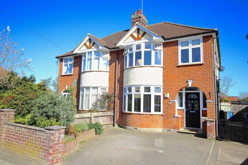 4 Bedrooms Semi Detached House for sale in Brunswick Road