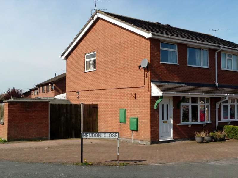 3 Bedrooms Semi Detached House for sale in Hendon Close Sydney Crewe