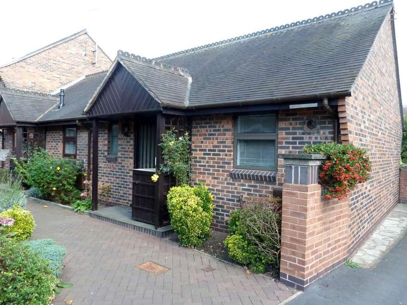 1 Bedroom Terraced Bungalow for sale in Rectory Close Bowling Green Court Nantwich