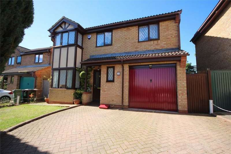 4 Bedrooms Detached House for sale in Launton Close, BARTON HILLS