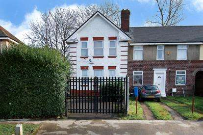 3 Bedrooms End Of Terrace House for sale in Homestead Road, Sheffield, South Yorkshire